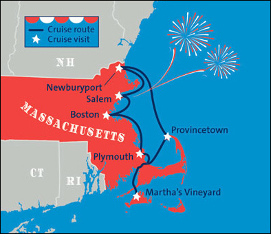Blount Launches 4th of July Cruise Round Trip from Boston, 20% OFF Until Feb 28