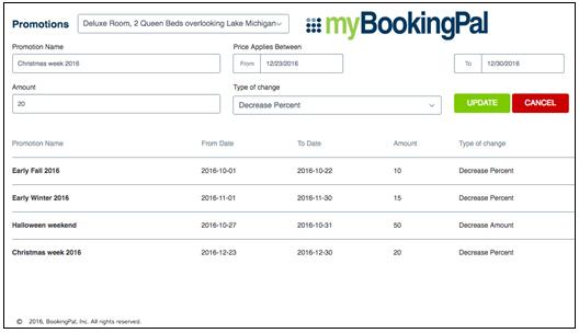 Announces new feature for mybookingpal channel management platform