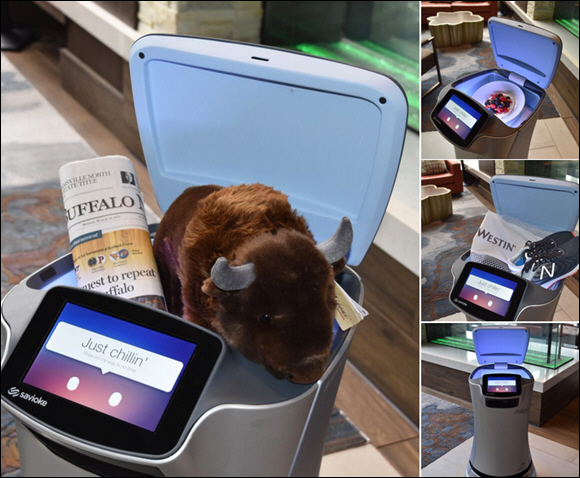 Delaware North Introduces 'Wellbot' Robot Butler at The Westin Buffalo