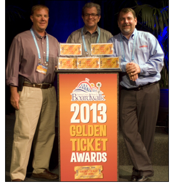 Dollywood Sweeps 2013 Golden Ticket Awards with Five 'Best of the Best' Honors