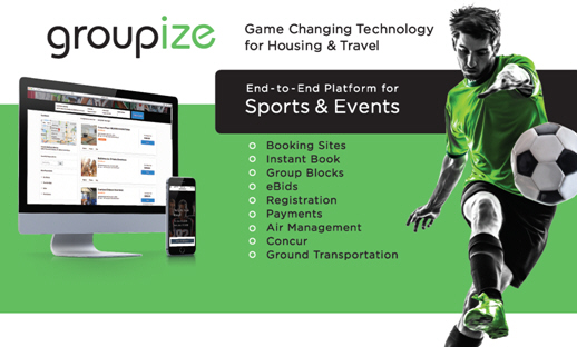 Groupize Launches New Sports Travel Management Platform at the TEAMS 2017 Conference