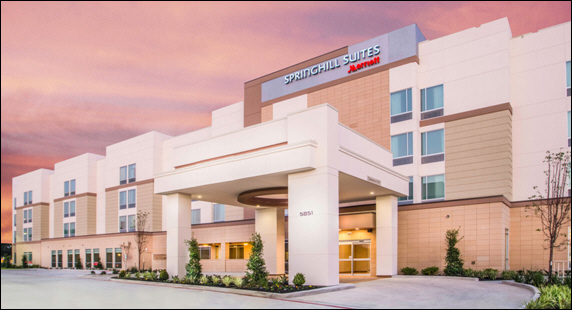HMC Managing Springhill Suites by Marriott® Westchase in Houston, Texas