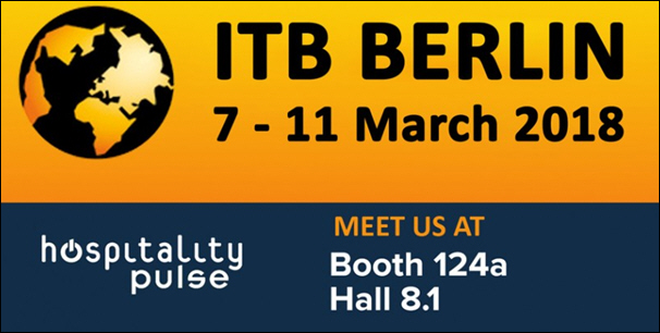 See hospitalityPulse at ITB - Hall 8.1, Booth 124a