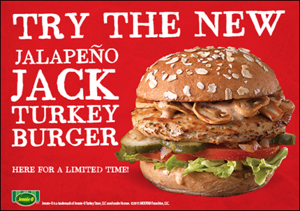 ... Migrates Southwest: Introducing the New Jalapeño Jack Turkey Burger