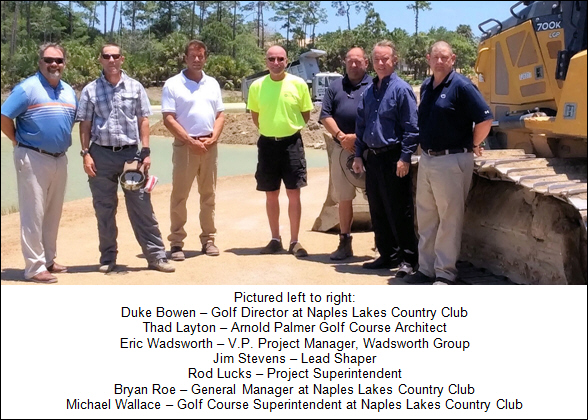 Naples Lakes Country Club to Renovate Golf Course