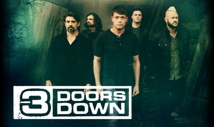 3 Doors Down to Perform on New First Night at Chevy Court