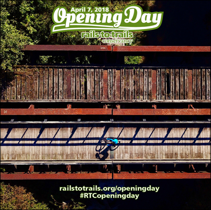 Rails-to-Trails Conservancy's ''Opening Day for Trails'' Celebrates Connections Trails Make Nationwide