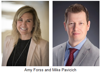 Amy Forss and Mike Pavicich
