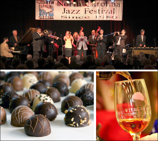 February Festivals to Feed the Jazz, Chocolate & Wine Lovers' Souls