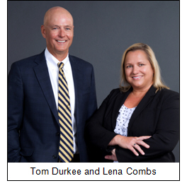 Tom Durkee and Lena Combs